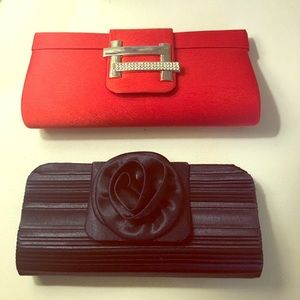 Handbags - Cute clutch bags. Only used once.